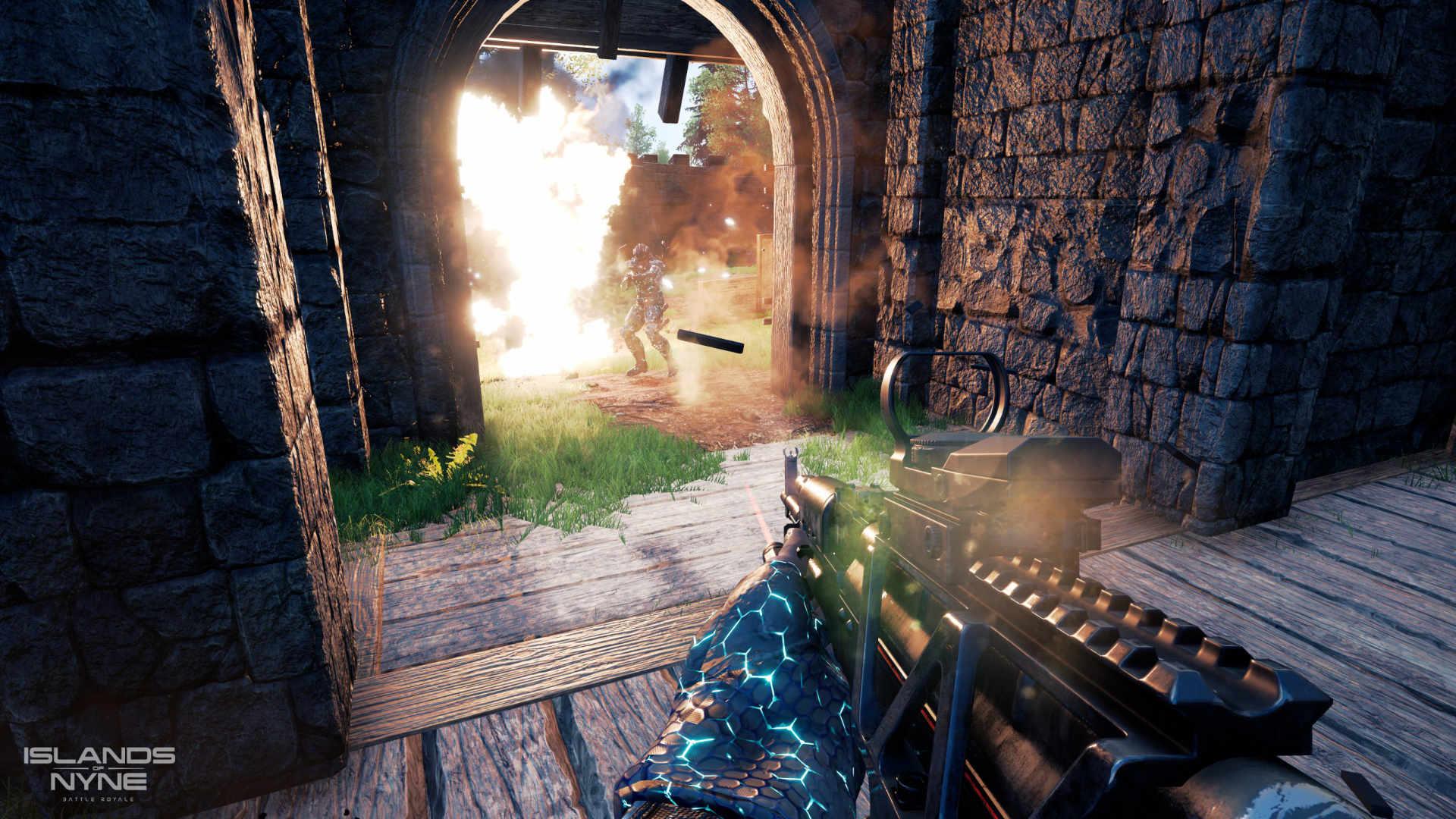 Islands of Nyne: Battle Royale Screenshot